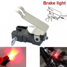 Red LED Bicycle Brake Light Bike Safety Warning Stop Lamp Waterproof UK SELLER