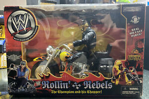 wwe hulk hogan Motorcycle jakks Pacific Rollin' Rebels