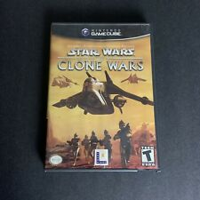 Star Wars The Clone Wars Nintendo Gamecube Complete w/Manual