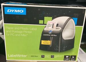 DYMO LabelWriter 450 Duo - Black
