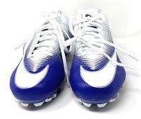 Nike Vapor Speed Men's Football Soccer Cleats       Sz 13 White/Blue