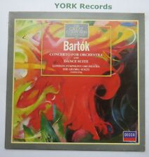 411 023-1 - BARTOK - Concerto For Orchestra & Dance Suite SOLTI - Ex LP Record