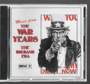 Madacy Musique Music From The War Years The Big Band Era Disque 2, Neuf CD