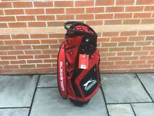 Slazenger V Series Cart Bag Red/black Brand New