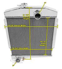 3 Row QR Champion Radiator 4 Cylinder fits 1961 - 1971 International Scout
