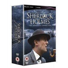 Sherlock Holmes The Complete DVD Collection 16 Discs 41 Episodes Cert 15 Bri