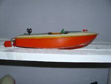 antik blechspielzeug original ARNOLD sportboot ca 28cm lang gebraucht bespielt