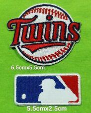 Minnesota Twins+MLB Baseball Sport Logo iron,sew,Patch,decorate on Fabrics