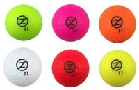 Zero Friction Spectra Sleeve of 4 Golf Balls All Colours