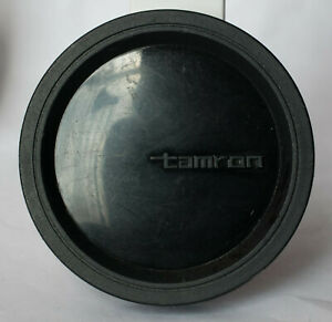 Tamron 62mm push on soft plastic front lens cap.