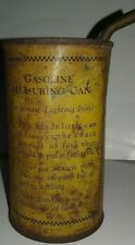 "Gasoline Measuring Can for Instant Lighting Irons, 4 3/4"" 1800's"