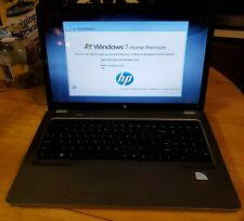 HP G72-227WM  Laptop rarely used with an a/c adaptor AND TWO batteries one NU !!