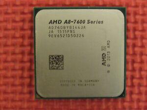 AMD AD760BYBI44JA A8-7600 Series 3.1GHz Quad-Core Socket FM2+ CPU Processor