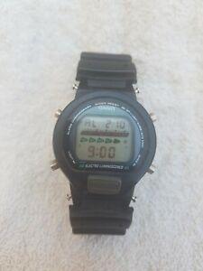 Vintage 1995 Casio G-Shock DW-6600-1V DW 6600-1V 1199 Electro Luminescence Watch