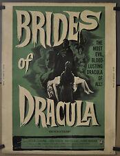 Brides Von Dracula 1960 Original 30X40 Film Poster Peter Cushing Martita Jagd