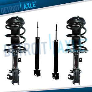 Nissan Maxima Struts Complete Coil Assembly + Shock Absorbers All 4 Front & Rear