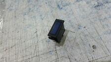 Clásico Rectangular Azul Luz De Advertencia SALPICADERO Iluminado 12 VOLTIOS