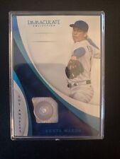 2017 Immaculate Baseball Kenta Maeda Jersey Button 4/4 Dodgers Twins Japan