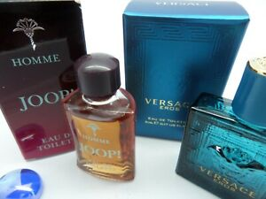 JOOP Homme + VERSACE Eros MEN edt MINI Miniature PERFUME Fragrance SET