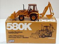 Case 580K Side Shift Backhoe - 1/35 - Conrad #2935 - MIB