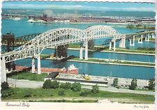 "*Postcard-""International Bridge"" +Between America & Canada- (U2-308)"
