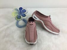 Cole Haan NikeAir Pink Suede Slip On Slides Sneaker Shoes D17529 Size 5.5 B