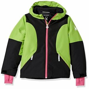 Spyder Girls Dreamer Jacket, Ski Snowboarding Jacket Size L (14/16 Girls), NWT