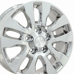 "OEW 20"" Wheel Rim Fits Toyota Tundra Tacoma Lexus TY11 Chrome 69533 20x8"