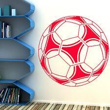 Fútbol Grande Adhesivo de vinilo para pared Salón De Clases Niños Habitación