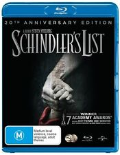 Schindler's List Blu-Ray : NEW