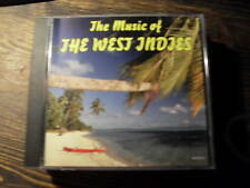 THE MUSIC OF THE WEST INDIES     CD