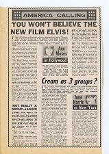 ANN MOSES / JUNE HARRIS / MICK JAGGER press clipping 1968 15X23cm (10/8/1968)