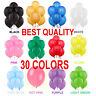25 - 100 Latex LARGE Balloons Helium Ballons Quality Birthday Wedding  baloons
