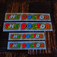 VALENTINO ROSSI 4 STICKER DECAL THE DOCTOR MOTO GP