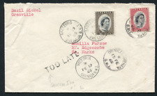 GRENADA: (16760) TOO LATE postmark/cancel/cover