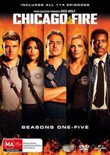 Chicago Fire : Season 1-5 (DVD, 2018, 30-Disc Set)