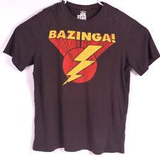 The Big Bang Theory Mens T Shirt M Top Size Medium Tee Bazinga OFFICIAL Sheldon