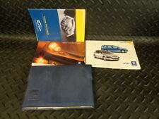 2003 PEUGEOT 307 2.0 TD HDi LX 5DR ESTATE OWNERS MANUAL HAND BOOKS & WALLET
