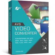 AVS Video Converter 10.1 deutsche Vollver. lifetime Download 34,99 statt 58,99 !