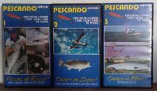 VHS Ita Documentario PESCANDO 1,2,3 avofilm raro!! no dvd(VHS22)