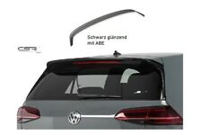 Cup Heck Spoiler Dach Flügel für VW Golf VII 7 GTI,GTD,R.R-line schwarz glänzend