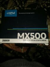 Crucial MX500 2TB 3D NAND SATA 2.5 Inch Internal Solid State Drive NEW