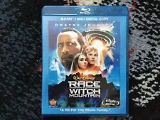 Disney : Race to Witch Mountain with The Rock : Like New Blu-ray / DvD Set