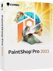 Corel PaintShop Pro 2021 US Retail Box