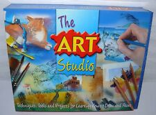 book-studio 2004 THE ART STUDIO LEARNING TO PAINT AND DRAW CHARCOAL PASTEL WATER