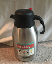 Aladdin Stainless Steel Insulated Carafe 2L (68oz) Hot Cold NEW