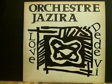 """ORCHESTRE JAZIRA  Love 12"""" single  Anglo African  Jazz   RARE!"""