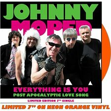 "JOHNNY MOPED - Everything Is You - Vinyl (limited coloured vinyl 7"" NEON ORANGE)"
