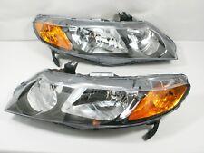 For 2006-2011 Honda Civic SEDAN ONLY Headlight Headlamp PAIR L & R - No Hybrids