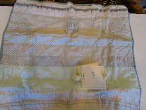 Pottery Barn Kids Starla Euro sham quilted New wo tag